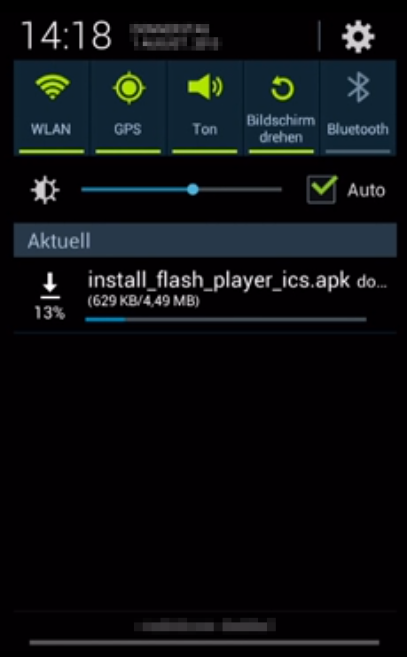 how to download adobe flash on android