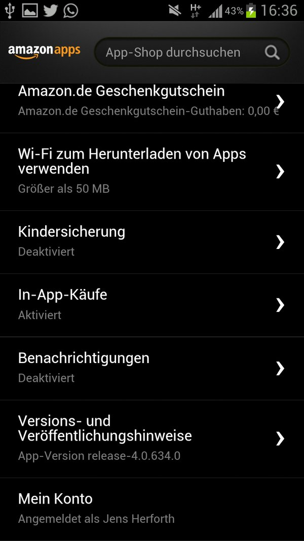 Amazon App Store Android 2