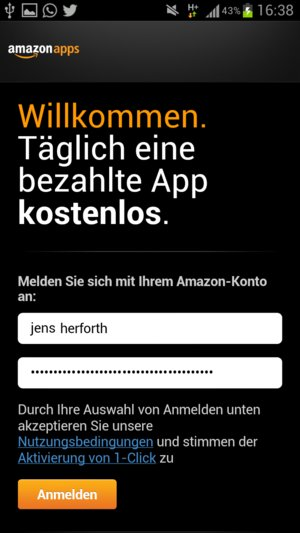 Amazon App Store Android 4