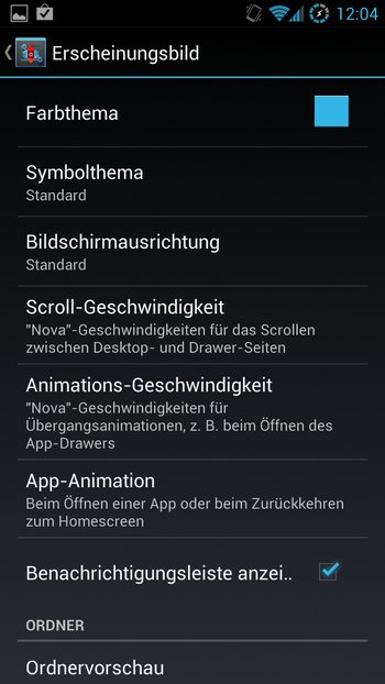 AOKP Jelly Bean Galaxy S3 Einstellungen 5