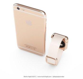 iPhone 6s in Roségold (Konzept)