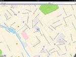 Stadtplan-Ansicht in Apple Karten