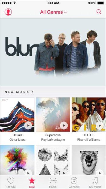 Apple Music – Neuheiten