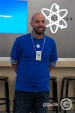 Store Manager Apple Store Rhein Center - Bild: Holger Eilhard/GIGA.DE