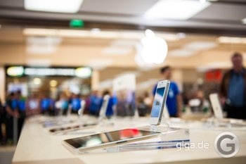 Apple Store Rhein Center - Bild: Holger Eilhard/GIGA.DE