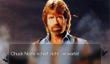 Chuck Norris schläft nicht