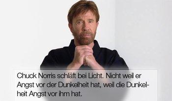 Chuck Norris ist der Erleuchtete