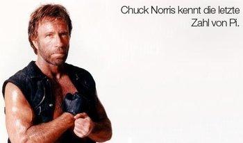 Es gibt nichts, was Chuck Norris nicht kann.