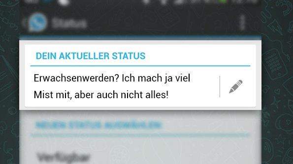 Bildergalerie Die Besten WhatsApp Status Sprüche Teil 1
