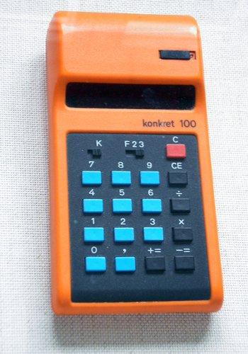 Optoelektronische Display-Taschenrechner, frühe 1970'er