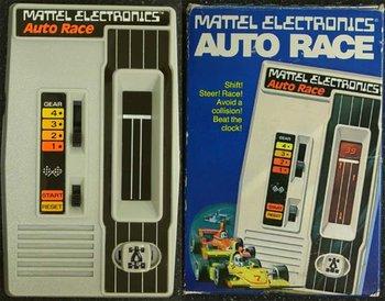 Das erste richtige Handheld: Auto Race, 1976/77