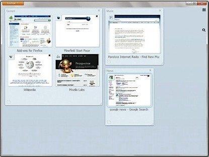 Firefox Portable Beta Tabvorschau