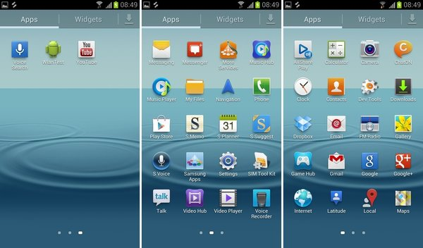 Galaxy S3 Jelly Bean Update - Screenshots 4