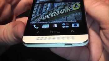 Das HTC One unten