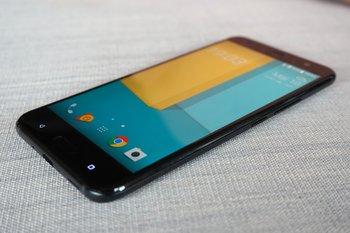 HTC U11: liegend und kapazitive Tasten