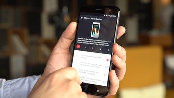 HTC U11: Konfiguration von Gesten
