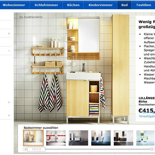 Badezimmerplaner  IKEA Badezimmerplaner Webapp - GIGA