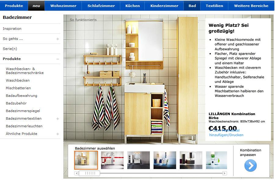 IKEA Badezimmerplaner Webapp GIGA - Badezimmer planer