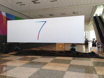 Offizielles Logo von iOS 7