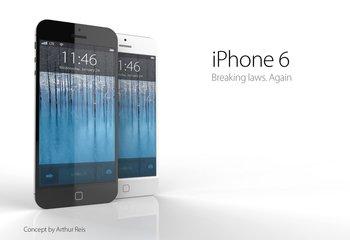 iPhone 6 Design-Konzept von Arthur Reis
