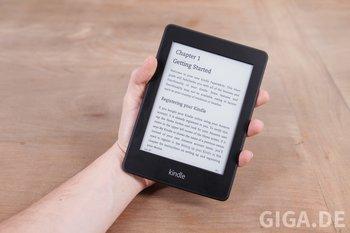 Auch zum Einhand-Lesen gut geeignet.