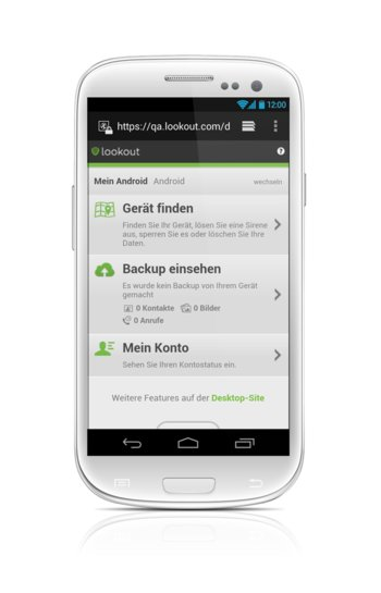 lookout-mobile-webseite