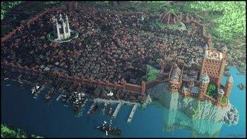 Echte Minecraft-Fans bauten Kings Landing aus Game of Thrones detailgetreu nach