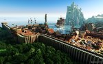 Ein weiterer Screenshot von Kings Landing in Minecraft nachgebaut
