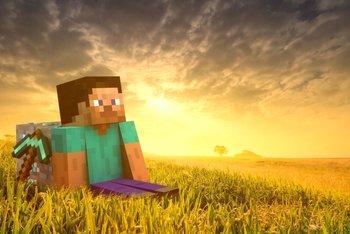 Nach einem harten Tag ist auch in Minecraft Entspannung angesagt