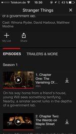 Netflix für iPhone