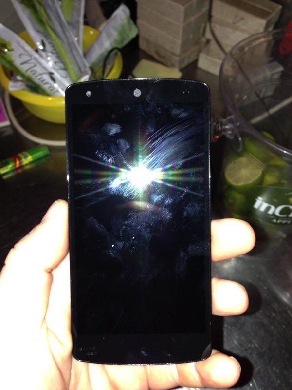 Nexus 5 - Vorderseite