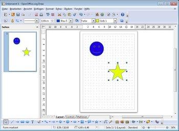 Apache OpenOffice Draw Screenshot