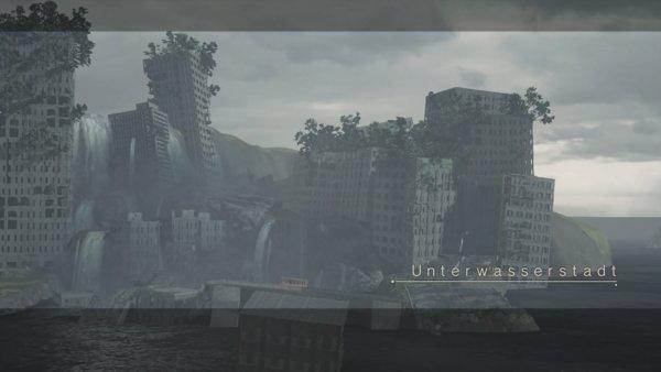 Die ausgebombte Unterwasserstadt