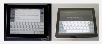 iPad Software Tastatur