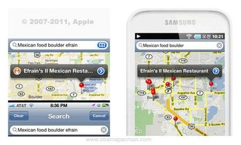 Maps App Interface