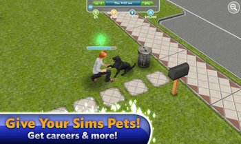 Die Sims Freispiel Screenshot 2