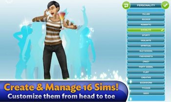 Die Sims Freispiel Screenshot 1