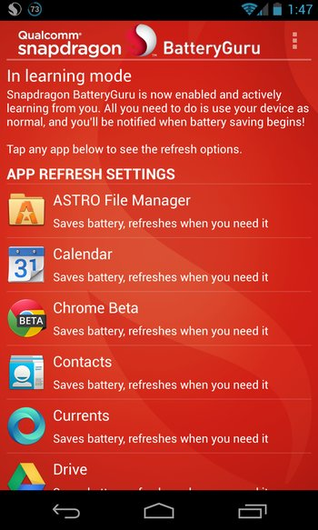 Snapdragon™ BatteryGuru (Beta)