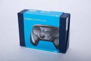 Die Rückseite der Verpackung des Steam Controllers