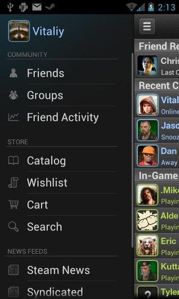 Steam für Android