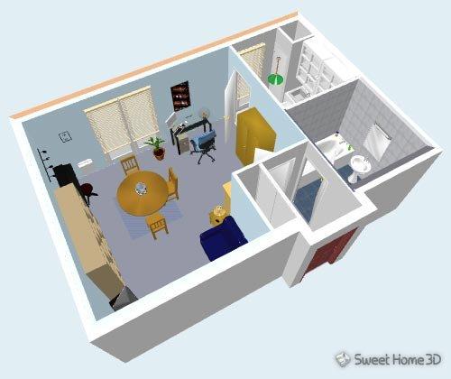 sweet home 3d download giga. Black Bedroom Furniture Sets. Home Design Ideas