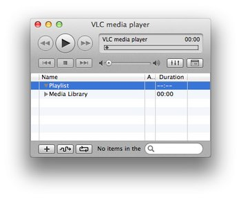 VLC Media Player fuer Mac Musik