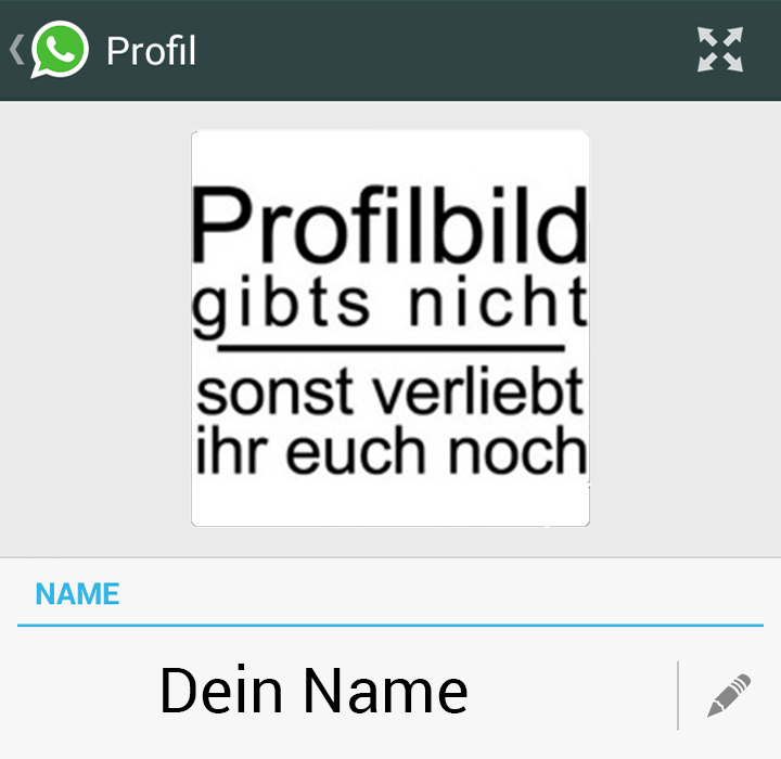 Whatsapp Profilbild Sprüche what youre
