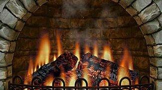 3D Realistic Fireplace - Kamin Bildschirmschoner