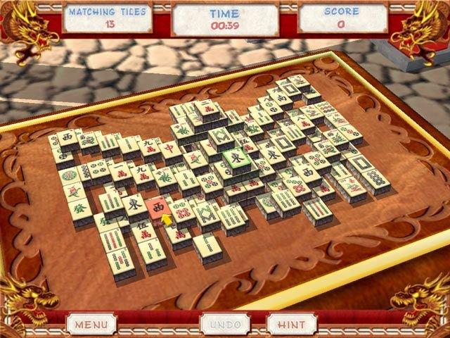 The Great Mahjong: Eliminiert alle freistehende Paare, um ein Spiel zu gewinnen