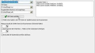 PDF-Formular Datenbank