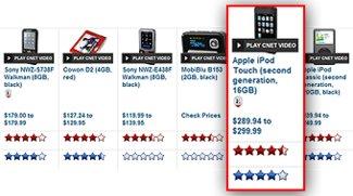 iPod touch: Platz 1 bei cnet-Test