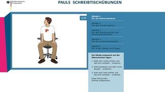 Pauls Schreibtischübungen