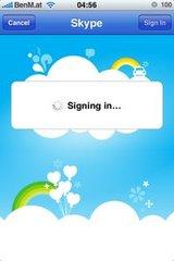 Skype iPhone App