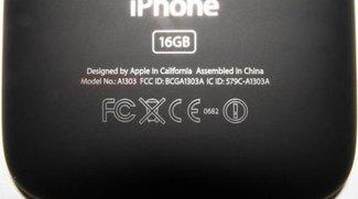 iPhone 3GS: Mattes Backcover ist echt